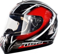 Шлем интеграл LS2 FF366 Cyber gloss black red L