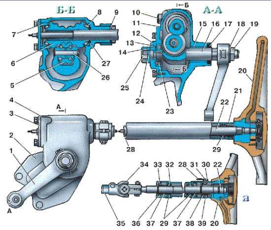 Ремонт рулевого редуктора уаз 469 – Рулевая колонка уаз 469. Устройство и работа рулевого редуктора УАЗ буханка